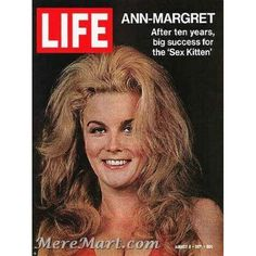On this day in LIFE — August Ann-Margret - After ten years, big success for the ' See more photos of Ann-Margret here. Life Magazine, History Magazine, Ann Margret, Old Magazines, Vintage Magazines, Life Cover, Olivia Newton John, Aretha Franklin, Tv Guide