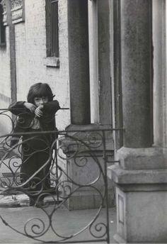 poboh: New York City, 1947, Henri Cartier-Bresson (1908 - 2004)