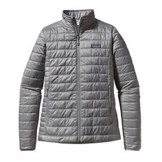 c7d5f299b7ca Patagonia Womens Nano Puff Jacket Feather Grey
