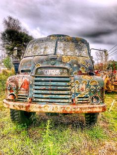 Moldy Old Truck is a photograph by Stuart Clifford. Old Bedford Truck. I came across this today when I was out walking the dog. This is actually the second time I have photographed this truck but the last time was over five years ago. Its gone downhill a bit since then. I have actually noticed since I got home that the lights look like happy and sad faces. Source fineartamerica.com