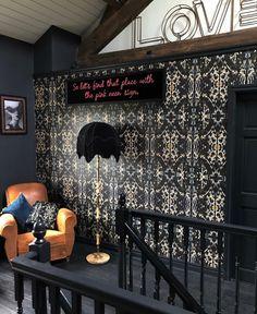 Eclectic, Dark & Glamorous Home Tour - Sally Worts
