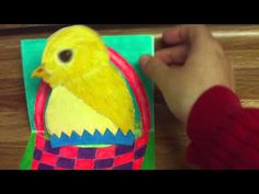 Part two of making the Happy Easter baby chick pop up card: http://sweetiepie.hubpages.com/hub/How-To-Make-A-Pop-Up-Card-With-A-Baby-Chick-For-Easter