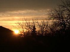 Sundown in Slovakia  #velkekapusany  #sundown #sunset Instagram: adamkuvarga