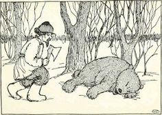 THE BEAR'S PAW - Russian Fairy Tales - Pictures