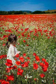 Iubesc copii iubesc florile..!