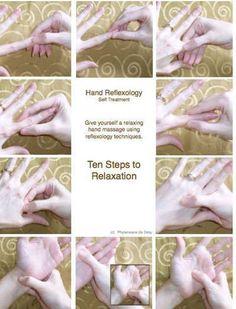 Hand reflexology 10minute hand treatment #massagebenefits