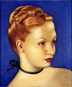 Tamara de Lempicka (1898-1980) Innocence, 1937