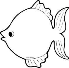 pics 1 word cheat level 139 , blank rainbow fish template