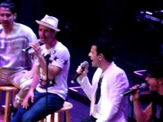We own tonight NKOTB cruise concert Group A - YouTube