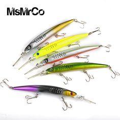 1 PCS 5color Minnow new 14.5cm/12.7g artificial crankbait lures top quality hunting hard baits lifelike wobbler swim bait tackle
