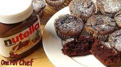 3 Ingredient Nutella Brownie Cupcakes