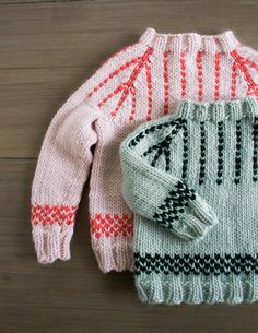 Friendly Fair Isle Sweater: Now Sized for Toddlers + Kids Too!