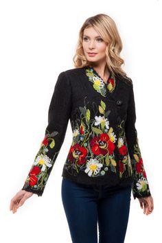 """Жакет """"Алина"""" - Юкостайл. Магазин дизайнерской одежды оптом и в розницу."""