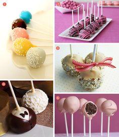 Cake pops for a wedding reception!