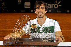 #PabloCuevas Campeão do Rio Open 2016!
