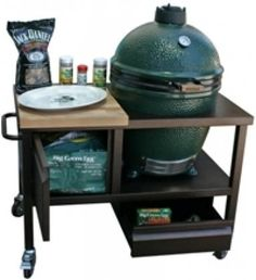 """BGEC 42"""" Solé Kamado Crate Designed to Hold a Large Big Green Egg in Antique by Sole, http://www.amazon.com/gp/product/B003TOE852/ref=cm_sw_r_pi_alp_qQL4pb0989M8K"""