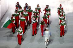 Check out all the amazing and ridiculous uniforms from the 2014 Sochi Winter Olympics opening ceremony!