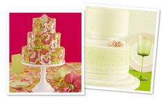 It's like a Lilly cake! #LillyPulitzer #SouthernWeddings