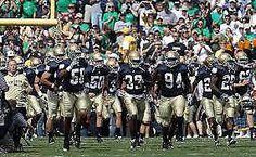 #tickets 4 HOME SIDE Notre Dame vs Vanderbilt Football Tickets MID-FIELD UPPER Level please retweet