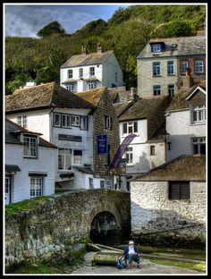 Polperro, Cornwall. Visited here each time we went to Cornwall on holiday.