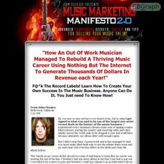 Advanced Strategies, Tactics And Tips For Selling Your Music On The Internet, From Major Label Recording Artist John Oszajca. See more! : http://get-now.natantoday.com/lp.php?target=mmanifesto