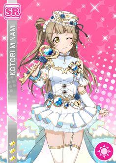 #1045 Minami Kotori SR idolized I love kotori!