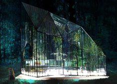 Modern greenhouse design by athens' 314 architecture studio for bfresh spitiko