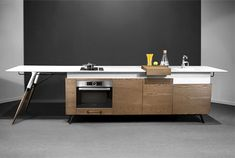 Compact Kitchen Design by Irena Kilibarda –  #design,  #furniture,  #modernfurniture,