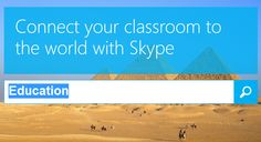 Comprehensive Guide to Using Skype in the Classroom. The article is fantastic, and definitely worth a read. Clear break down gives a no nonsense look at pros and cons to work with and information about how to incorporate of enhance use of Skype.