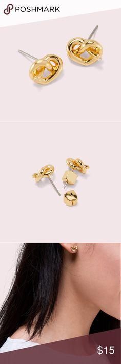 b09dabdf2 Kate spade love knot studs earrings Nwt No dust bags kate spade Jewelry  Earrings