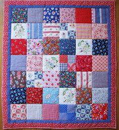 dutch sisters: Little folklore quilt
