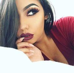 Lips and eyebrows on fleek.