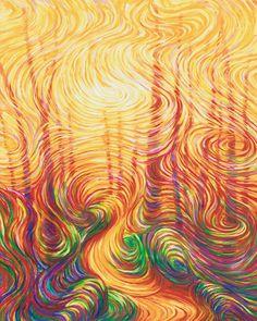 Path To Light by energy artist Julia Watkins