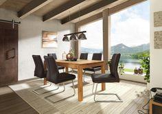 Esstisch aus massivem Eichenholz in exzellenter Qualität von LINEA NATURA