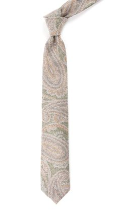 PRINTED FLANNEL PAISLEY - GREEN