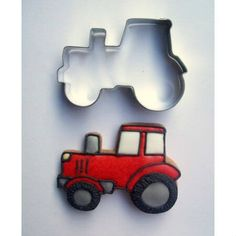Traktor alakú sütemény kiszúró forma, sütikiszúró. Mézeskalács formák - több mint 200 féle raktárról - a gasztroajándék webáruházban, gyere nézd meg Te is! Cookie Cutters, Cookies, Toys, Creative Ideas, Tractor, Crack Crackers, Activity Toys, Diy Creative Ideas, Biscuits