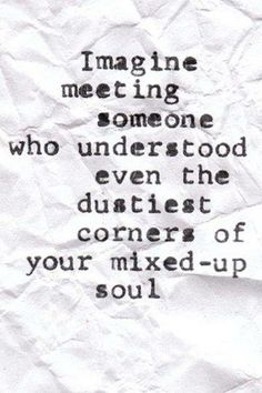 Someone who understands