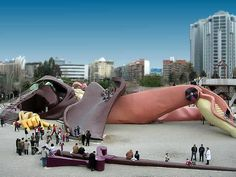 Parque infantil Gulliver en Valencia