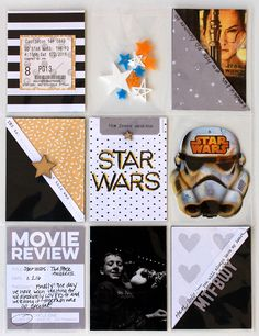 Project Life pocket pages by Jenni Hufford for Elle's Studio - Movie Review