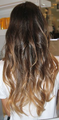 ombre??? Or bad roots?...we will never know! Bahahahaha that made me LOL both my bffs have it so I like ombré but that's funny!