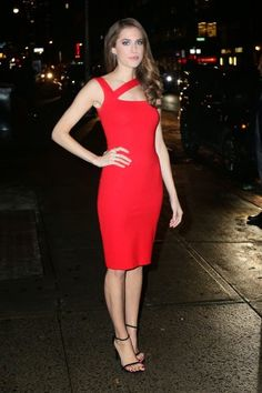 Hottiesbay: Allison Williams – Candids 'Late Show with David L...