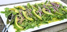 Recipe   Arugula & Avocado Salad w/ Grapefruit Vinaigrette   Dawn Jackson Blatner, Registered Dietitian
