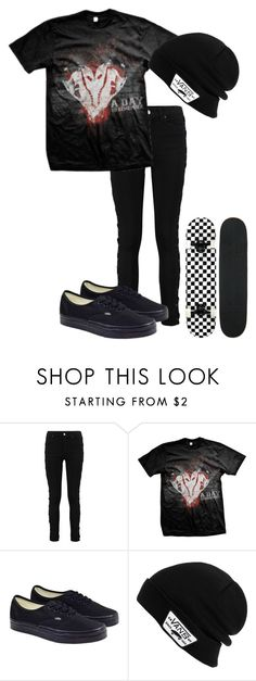 """""""My Kinda Guy (more examples in the items)"""" by bands-are-my-savior ❤ liked on Polyvore featuring Vans"""