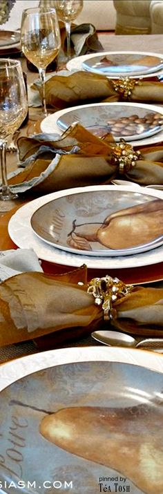❈Téa Tosh❈ Thanksgiving table setting