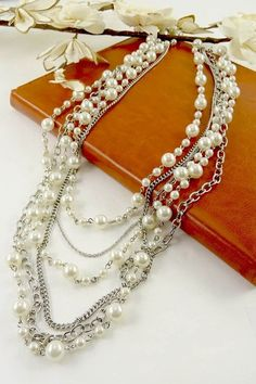 5102 - Layered Pearl Necklace