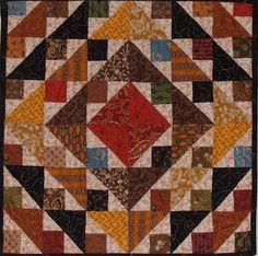 Lori Smith  Quilt Square  aka Mary's Triangle method