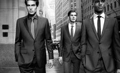 I love a man in suit and these sleek ones are jawdroppers for me.