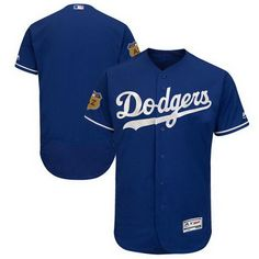 00effdf87 Highlight your Los Angeles Dodgers fandom with this 2017 Spring Training Flex  Base Authentic Collection Team Jersey from Majestic!
