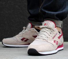 Reebok Phase III OG-Parchment-Mesa Red-White