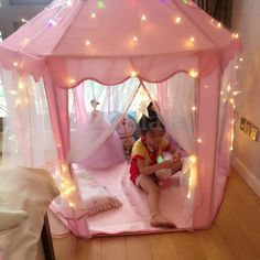 Castelo Princesa Rosa Meninas Fofo Playhouse Crianças Kids Play Tenda ao ar livre brinquedos   Brinquedos e hobbies, Brinquedos e estruturas para ambiente externo, Barracas, túneis e cabanas para brincar   eBay!